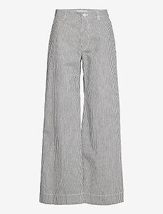 Allie trousers 13158 - bukser med brede ben - milk boy st.