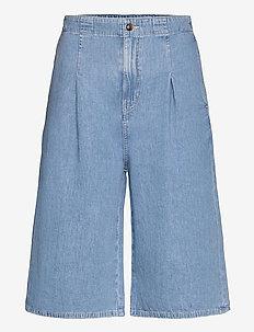Leila shorts 13165 - lühikesed teksapüksid - pale blue