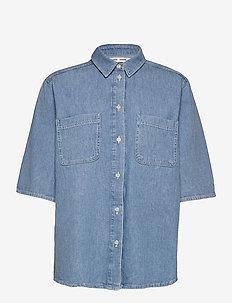 Lotta shirt 13165 - farkkupaidat - pale blue