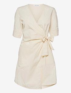 Althea ss short dress 11466 - robes d'été - antique white