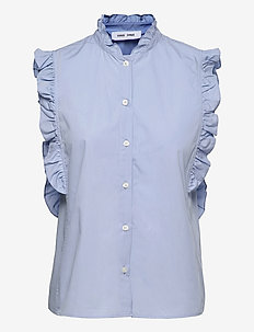Marthy shirt top 11466 - Ærmeløse bluser - brunnera blue