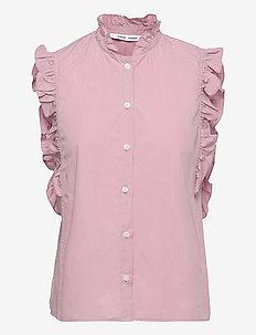 Marthy shirt top 11466 - Ærmeløse bluser - mauve shadow