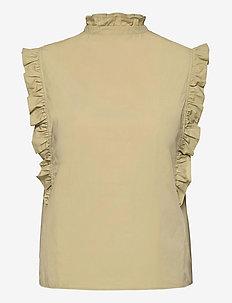 Marthy shirt top 11466 - Ærmeløse bluser - sage green