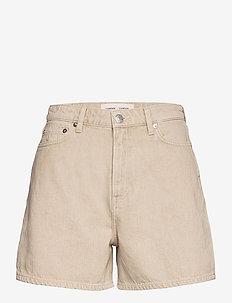 Adelina shorts 14030 - lühikesed teksapüksid - brown rice