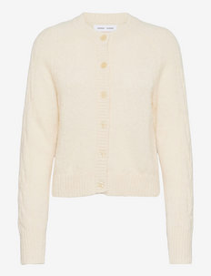 Neta cardigan 12755 - swetry rozpinane - whisper white mel.