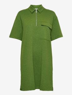 Jessy short dress 13055 - poloskjorter - twist of lime