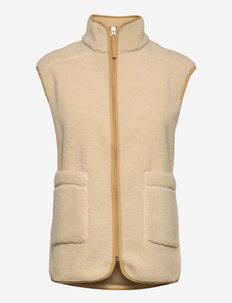 Ani vest 11705 - teddy vestid - brown rice