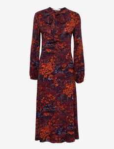 Oline dress aop 10908 - everyday dresses - fired crepitus