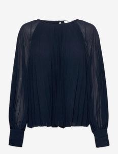 Annmari blouse 6621 - langermede bluser - sky captain