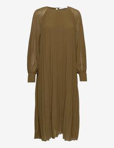 Annmari dress 6621 - sommerkjoler - dark olive