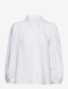 Mejsa shirt 12771 - koszule z długimi rękawami - bright white
