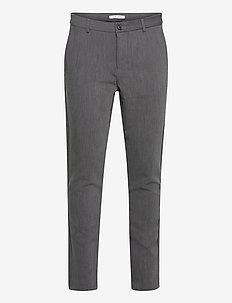 Frankie pants 11686 - formele broeken - dark grey mel.