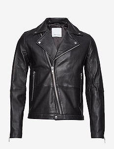 Spike jacket 7248 - skinnjackor - black
