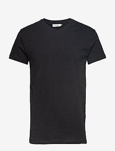 Kronos v-n t-shirt 273 - podstawowe koszulki - black