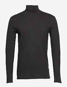 Merkur t-n ls 200 - langermede t-skjorter - dark grey mel.