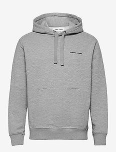 Norsbro hoodie 11727 - basic sweatshirts - grey mel.