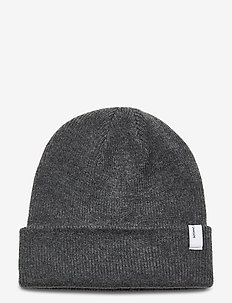 The beanie 2280 - mössor - dark grey mel.