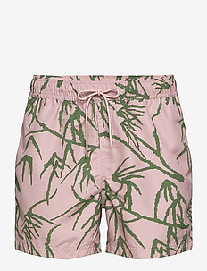 Mason swim shorts aop 6956 - badehosen - misty rose palm