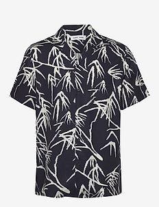 Einar SX aop 10527 - kortermede skjorter - night sky palm