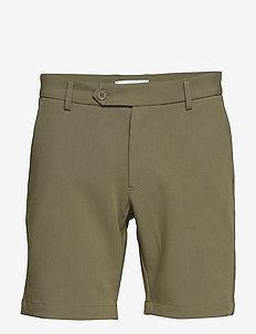 Hals shorts 10929 - tailored shorts - deep lichen green