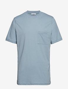 Bevtoft t-shirt 10964 - BLUE FOG