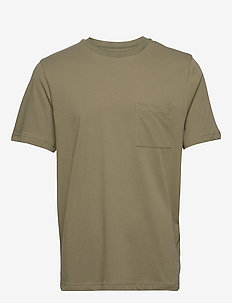 Bevtoft t-shirt 10964 - basic t-shirts - deep lichen green