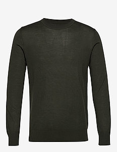Flemming crew neck 3111 - DEEP DEPTHS