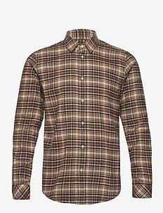 Liam NX 11209 - oxford shirts - cumin ch.