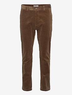 Andy x trousers 11046 - pantalons décontractés - shitake