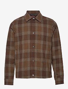 Brass jacket 11119 - BROWN CH.