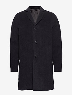 Bryn coat 11124 - ullfrakker - dark grey mel.