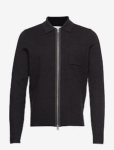 Guna X zip 10490 - cardigans - black
