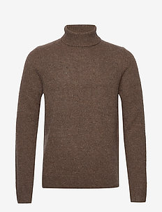 Uer turtle neck 11092 - CHOCOLATE TORTO
