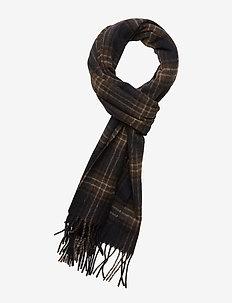 Mikey check scarf 11172 - NIGHT SKY ERMINE CH.