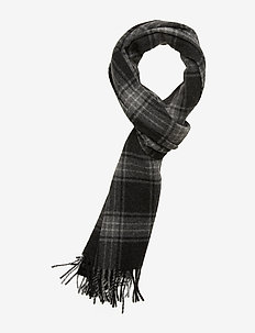 Mikey check scarf 11172 - QUIET SHADE CH.