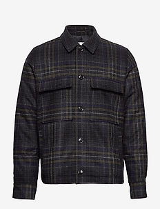 Melito jacket 11232 - overshirts - deep forest ch.