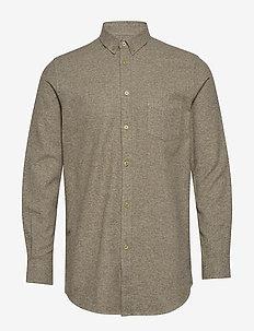 Liam BA shirt 11245 - chemises basiques - gothic olive