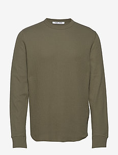 Parmo t-shirt ls 11409 - basic t-shirts - deep lichen green