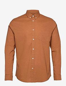 Liam BA shirt 6971 - chemises de lin - adobe