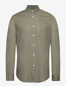 Liam BA shirt 6971 - deep lichen green