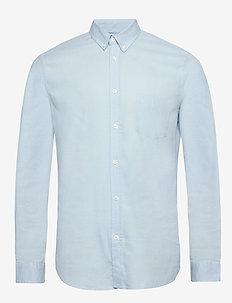 Liam BA shirt 6971 - basic skjortor - dream blue