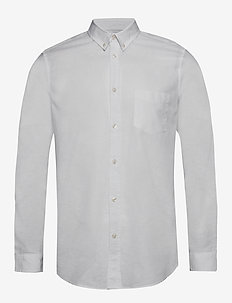 Liam BA shirt 6971 - basic shirts - white