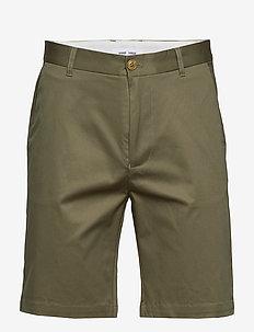 Andy x shorts 7321 - tailored shorts - deep lichen green