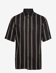 Taro NX shirt 10806 - kurzarmhemden - antique bronze st.