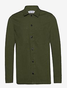Ruffo JC shirt 11382 - podstawowe koszulki - chive