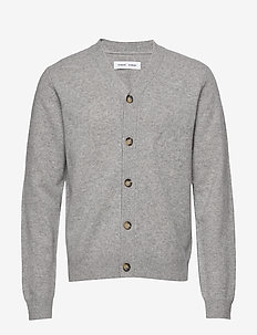 Tivoli cardigan 11313 - basic-strickmode - grey mel.