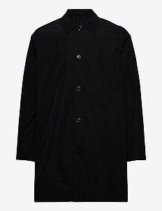 Massa coat 10915 - trenchcoats - black