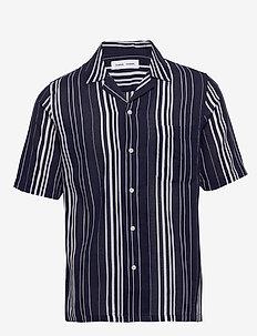 Oscar AC shirt 11528 - krótki rękaw - night sky st.