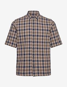 Taro NX shirt 11524 - checkered shirts - rainy day ch.