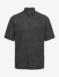 Taro NO shirt 11529 - checkered shirts - black mel.